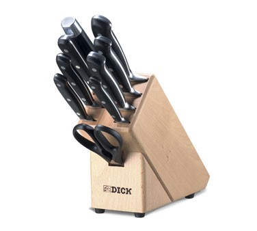 Friedr. Dick 8807000 10 Piece Knife Block Set, Forged