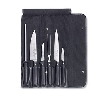 F. Dick - 7 Piece Chef'S Set In Roll Bag - Contains: 8144709, 8145521, 9202018, 8436813, 8144721, 7654125, 8106701