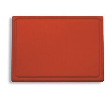 "Friedr. Dick 9153000-03 Cutting Board, Red, 20 3/4"" x 12 3/4"" x 3/4"""