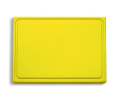 "Friedr. Dick 9153000-02 Cutting Board, Yellow, 20 3/4"" x 12 3/4"" x 3/4"""