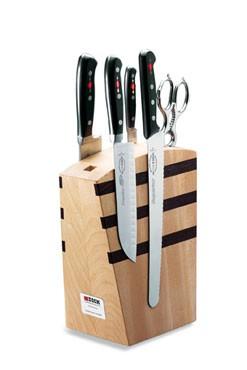 F. Dick - Wooden Knife Block, Magnetic, Premier Plus - New