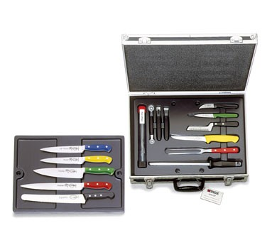 Friedr. Dick 8116600 Chef's HAACP Knife Set with Carry Case, 18-Piece