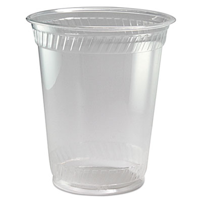 Fabri-Kal Greenware Cold Drink Cups, Clear, 12 oz., 1000/Carton