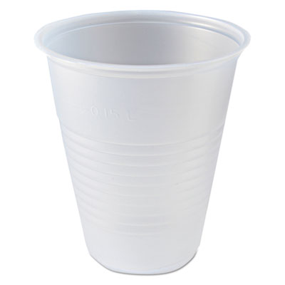 Fabri-Kal RK Ribbed Clear Cold Drink Cups, 7 oz., 2500/Carton