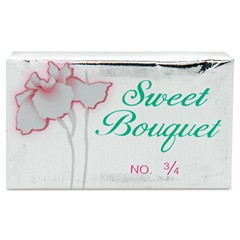 Face and Body Soap, Foil Wrapped, Sweet Bouquet Fragrance, 0.75 oz. Bar