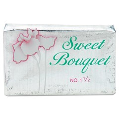 Face and Body Soap, Foil Wrapped, Sweet Bouquet Fragrance, 3 oz. Bar