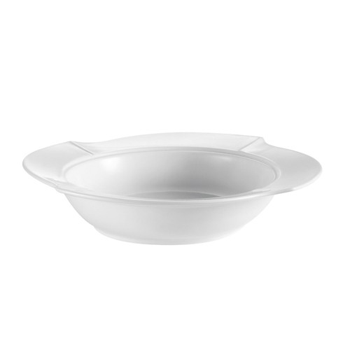 CAC China COL-120 Fashion Pasta Bowl with Lid 30 oz.
