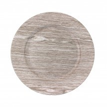 Faux Wood Charger Plates - Birch