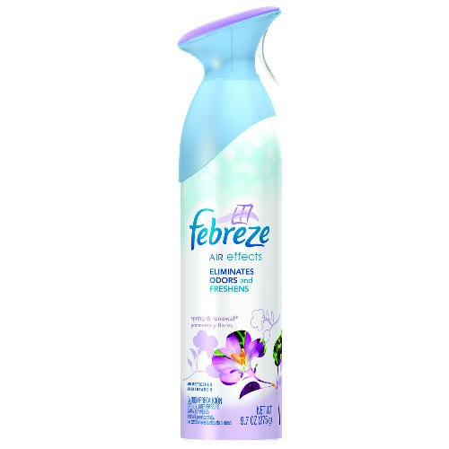 Febreeze Air Effects Freshener Aerosol, Spring 9.7 Oz
