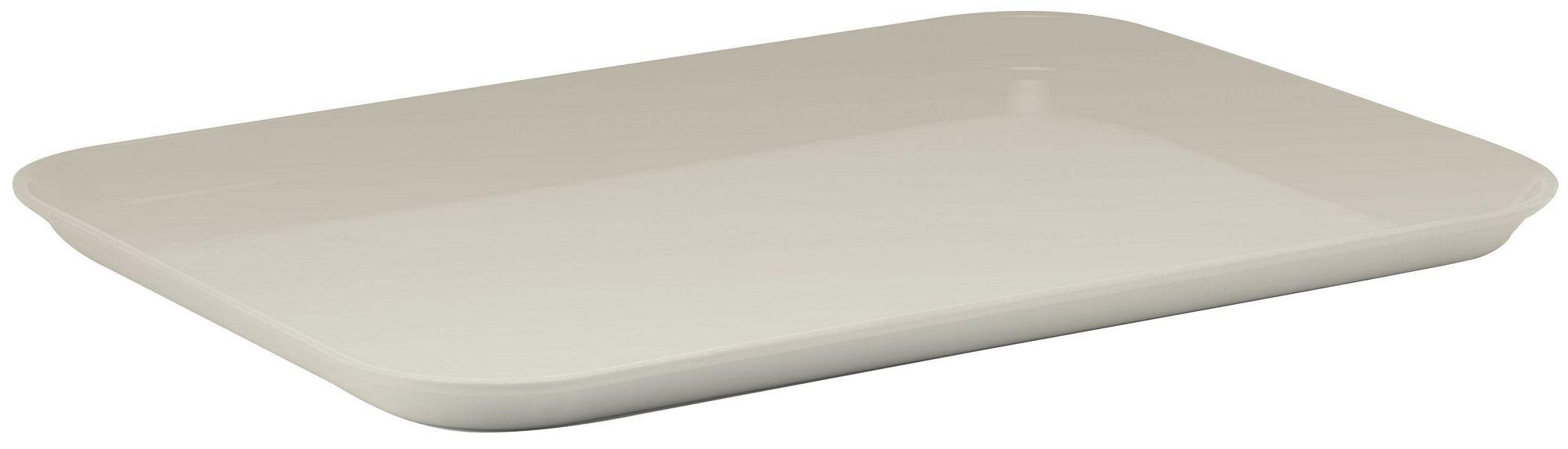 """Winco FGMT-0926C Fiberglass Market Tray, Cream 9"""" x 26"""""""