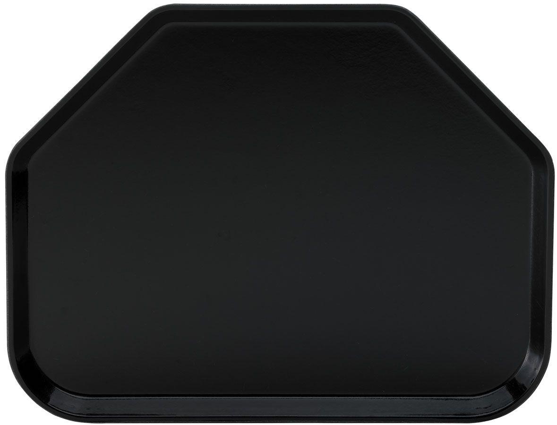 Winco FGTT-1814K Fiberglass Trapezoid Tray, Black 18quot; x 14quot;