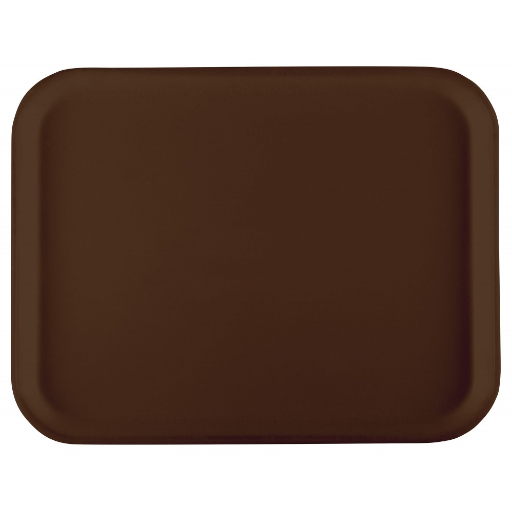Winco FGT-1520B Fiberglass Rectangular Tray, Brown, 15quot; x 20quot;