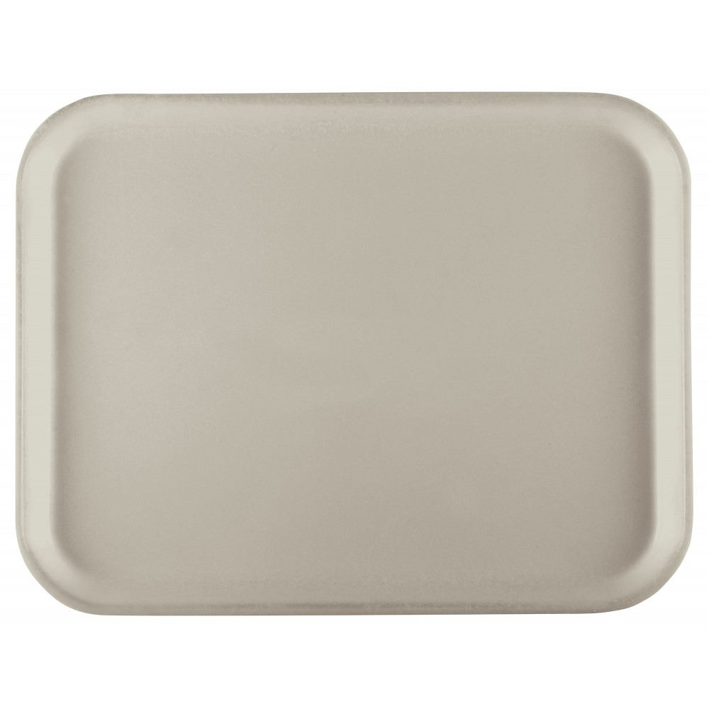 Fiberglass Tray, Cream, 15''x20'' Rectangular