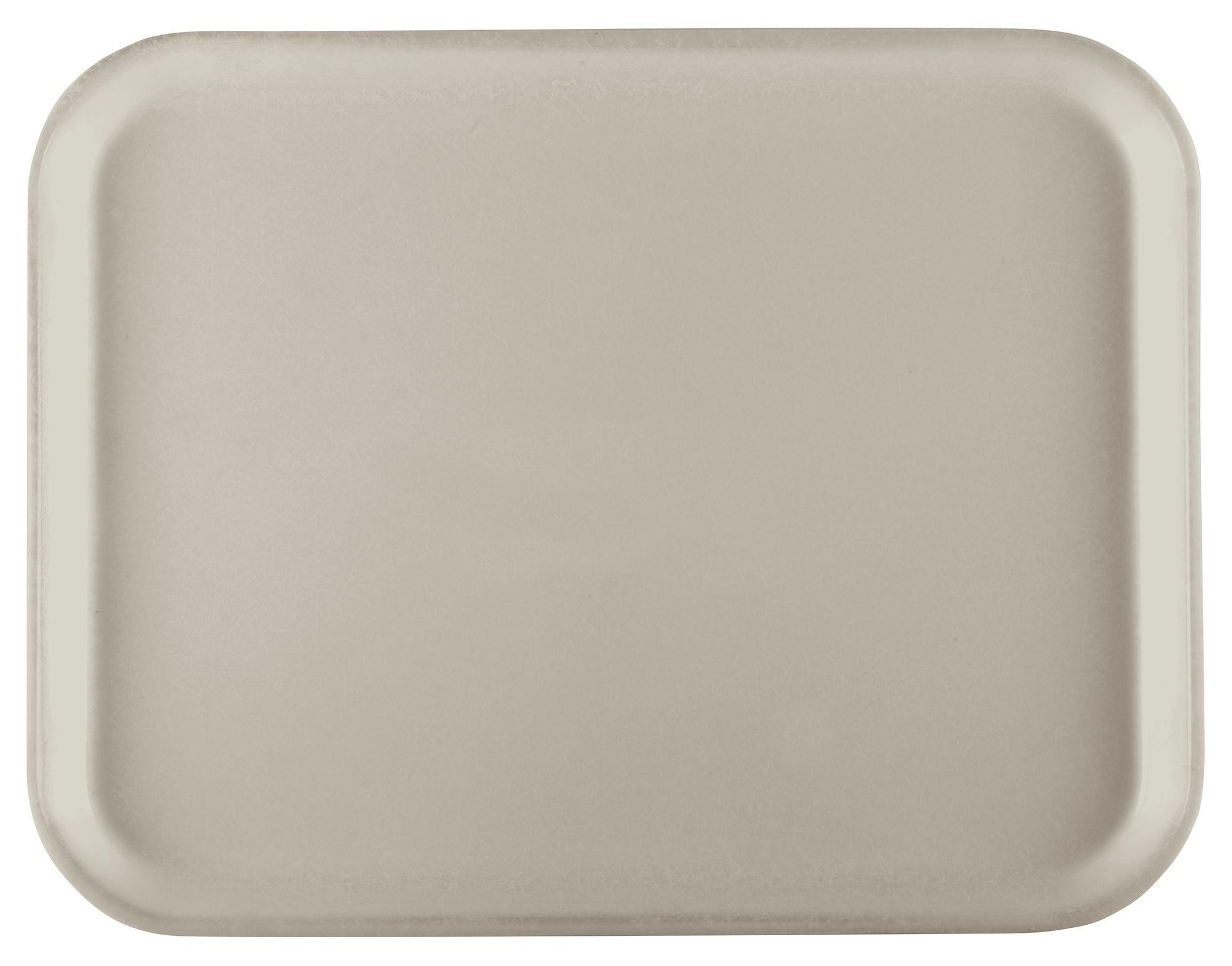 Winco FGT-1520C Fiberglass Rectangular Tray, Cream, 15quot; x 20quot;