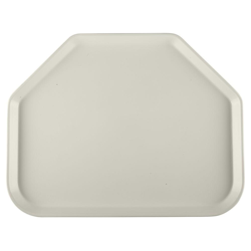 Winco fgtt-1814c Fiberglass Trapezoid Tray, Cream 18'' x 14''
