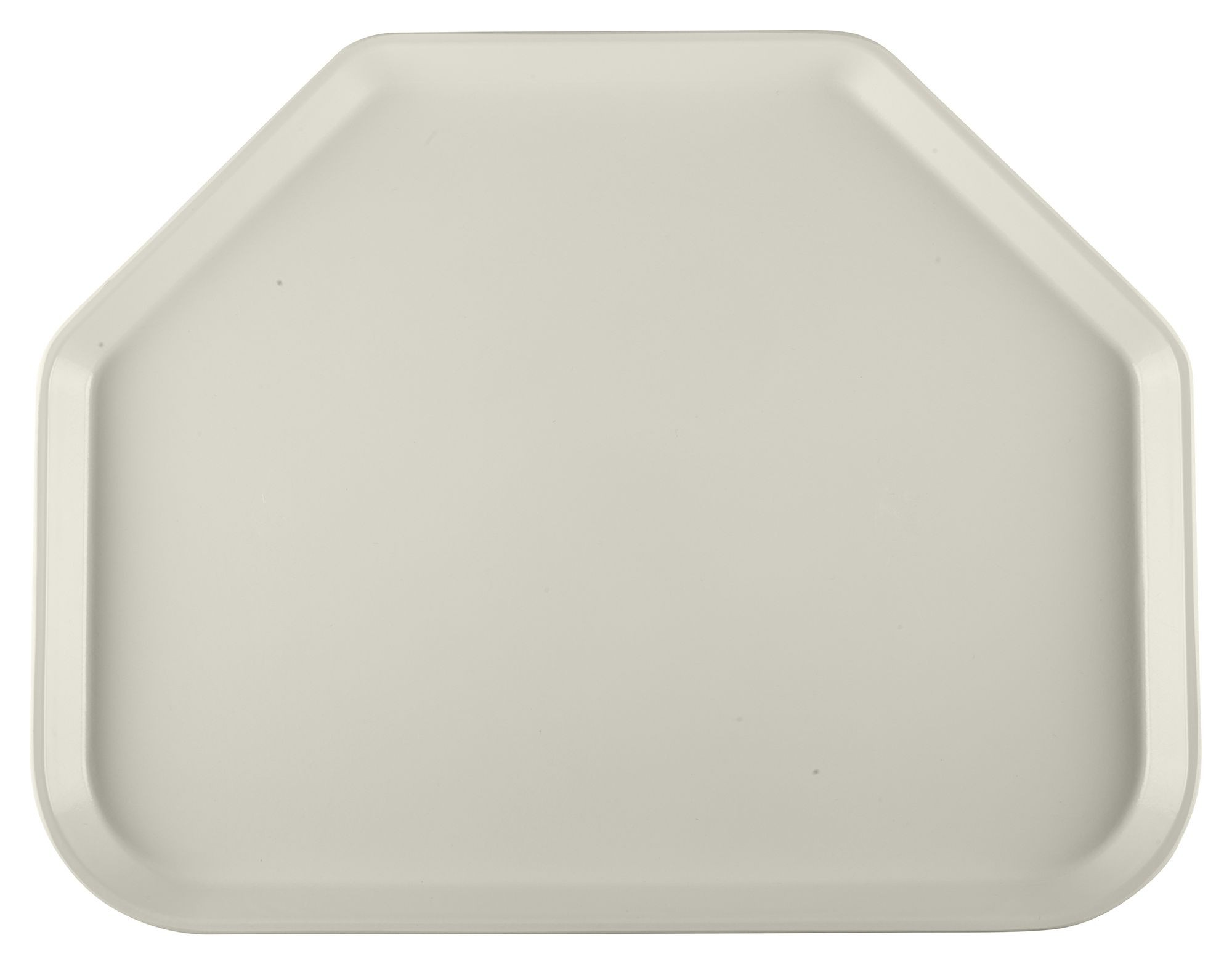 Winco FGTT-1814C Fiberglass Trapezoid Tray, Cream 18quot; x 14quot;
