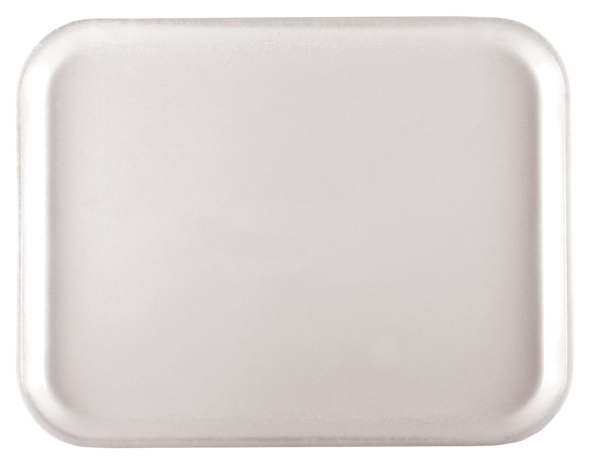 Fiberglass Tray, White, 12''x16'' Rectangular