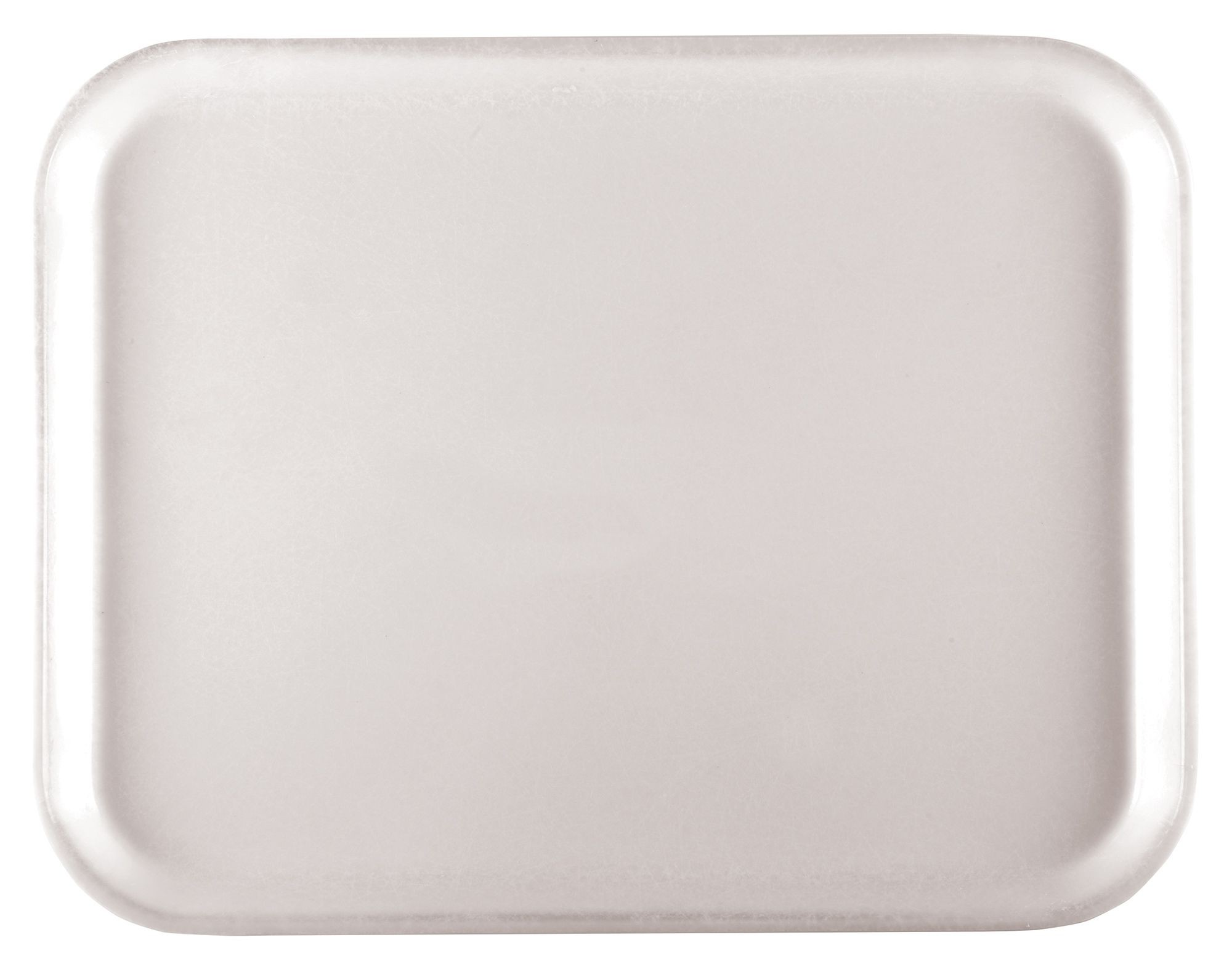 Fiberglass Tray, White, 15''x20'' Rectangular