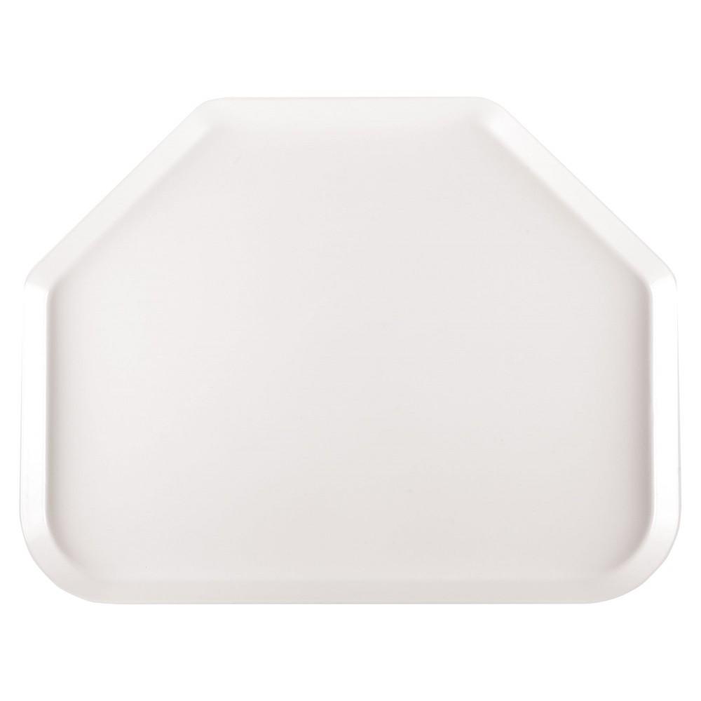 Winco FGTT-1814W Fiberglass Trapezoid Tray, White 18quot; x 14quot;