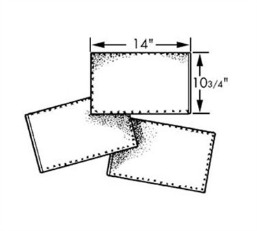 Filter, Oil (17.25X19.25 ) (100 )