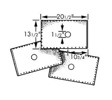 Filter, Oil (20.5X13.5 ) (100 )
