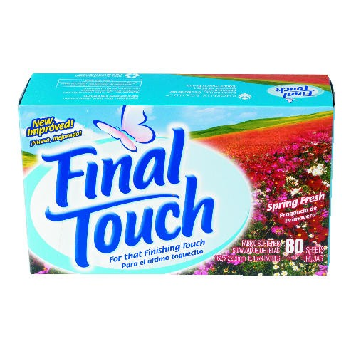 Final Touch Spring Fresh Dryer Sheets