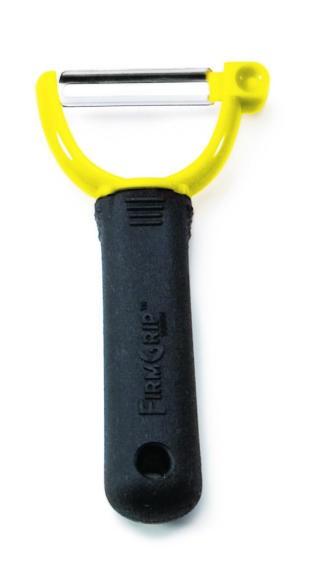 TableCraft E5602-JU Ergonomic Firm Grip Julienne Peeler