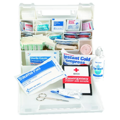 First Aid Kit, Plastic, (50 People)