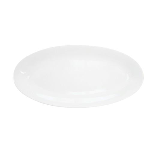 "CAC China RCN-98 Clinton Rolled Edge Fishia Platter, 18"" x 8 1/4"" x 1 1/4"""