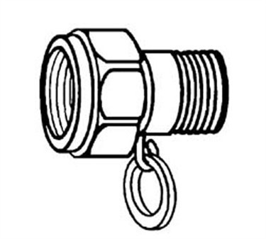 Franklin Machine Products  159-1003 Fitting (Swivel, 1/2Npt Mxght )