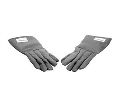 Franklin Machine Products  133-1315 Five-Fingered Nomex Red Gloves Pair 18""