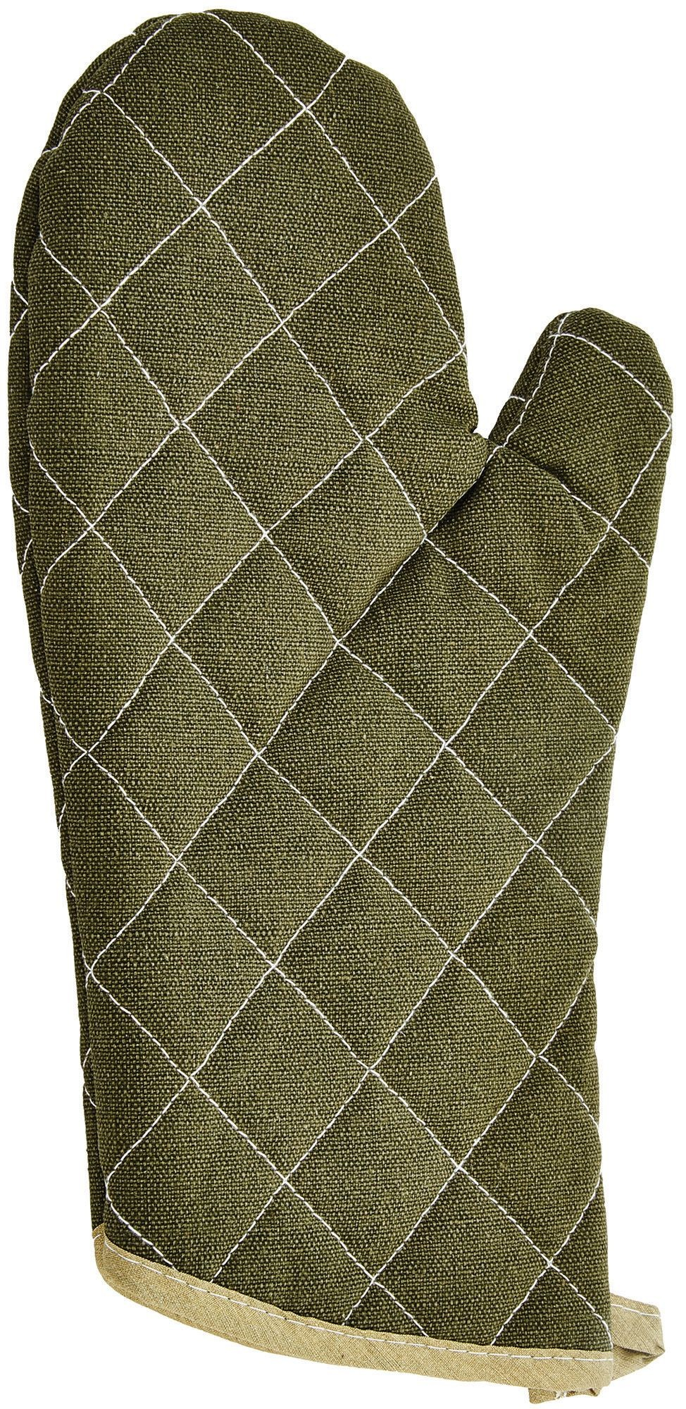 Winco OMF-13 Oven Mitt, Flame Resistant Up to 400° F 13""