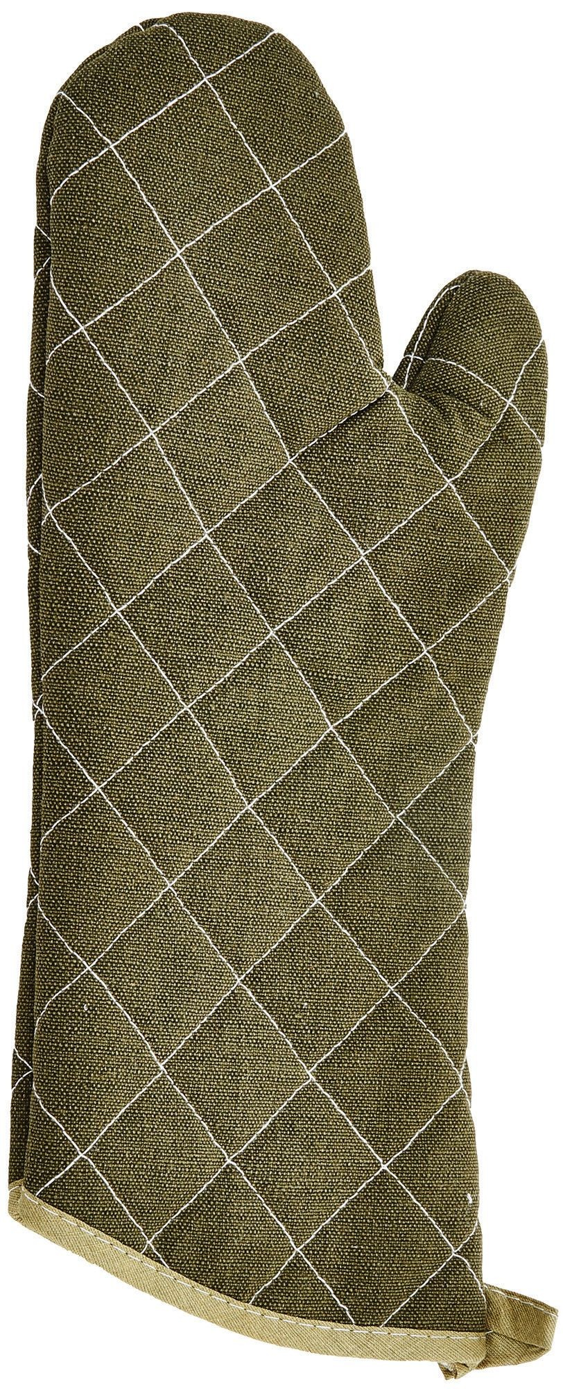 Winco OMF-15 Oven Mitt, Flame Resistant Up to 400° F 15""