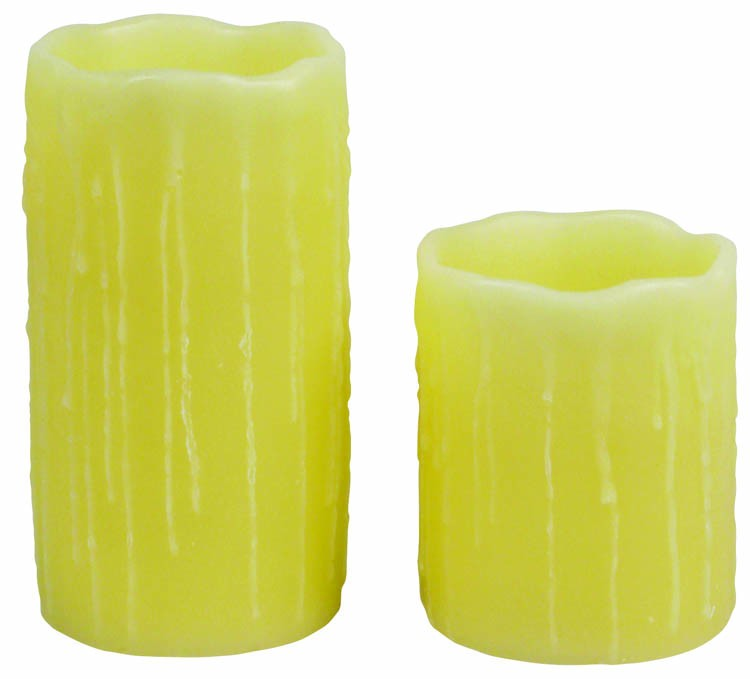 Flameless Candle 3(D) x 4 (H) no Battery included