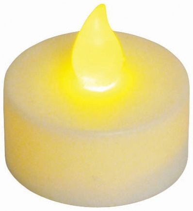 Winco CL-L Flameless Tealight Candle with Battery