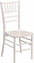 Flash Elegance Supreme Lime Wash Wood Chiavari Chair