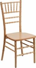 Flash Elegance Supreme Natural Wood Chiavari Chair