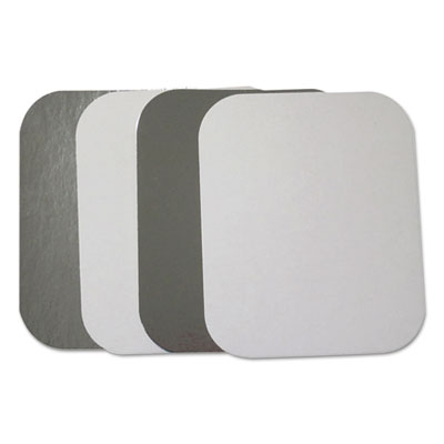 Flat Board Lids for 1 lb Oblong Pans, 1000 /Carton