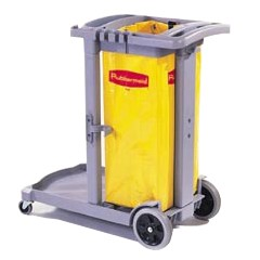 Flexi 2000 Cleaningcart, Gray