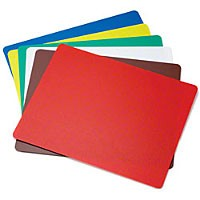 "TableCraft FCB1218A Flexible Cutting Mats, Assorted Colors, 12"" x 18"""