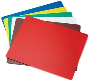 "TableCraft FCB1824A Flexible Cutting Mats, Assorted Colors, 18""x 24"""