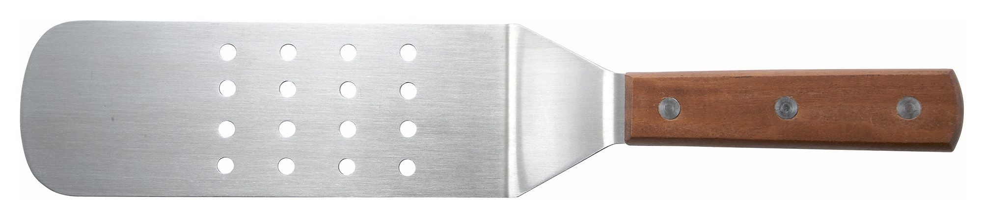 "Winco TN409 Flexible Turner with 9-1/2"" x 3"" Perforated Blade"