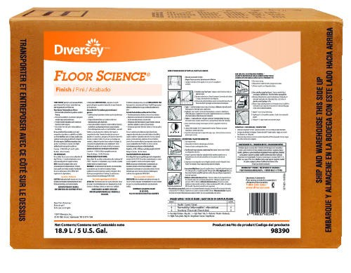 Floor Science� Premium Universal Sealer/Finish, 5 Gallon Bag-in-Box