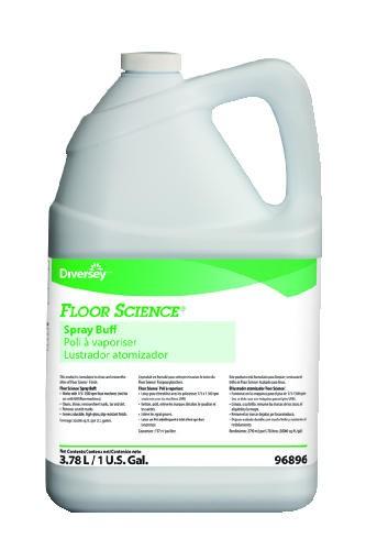 Floor Science� Spray Buff, Gallon Bottles