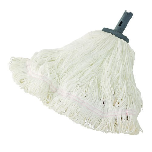 Flow Nylon String Mop, White