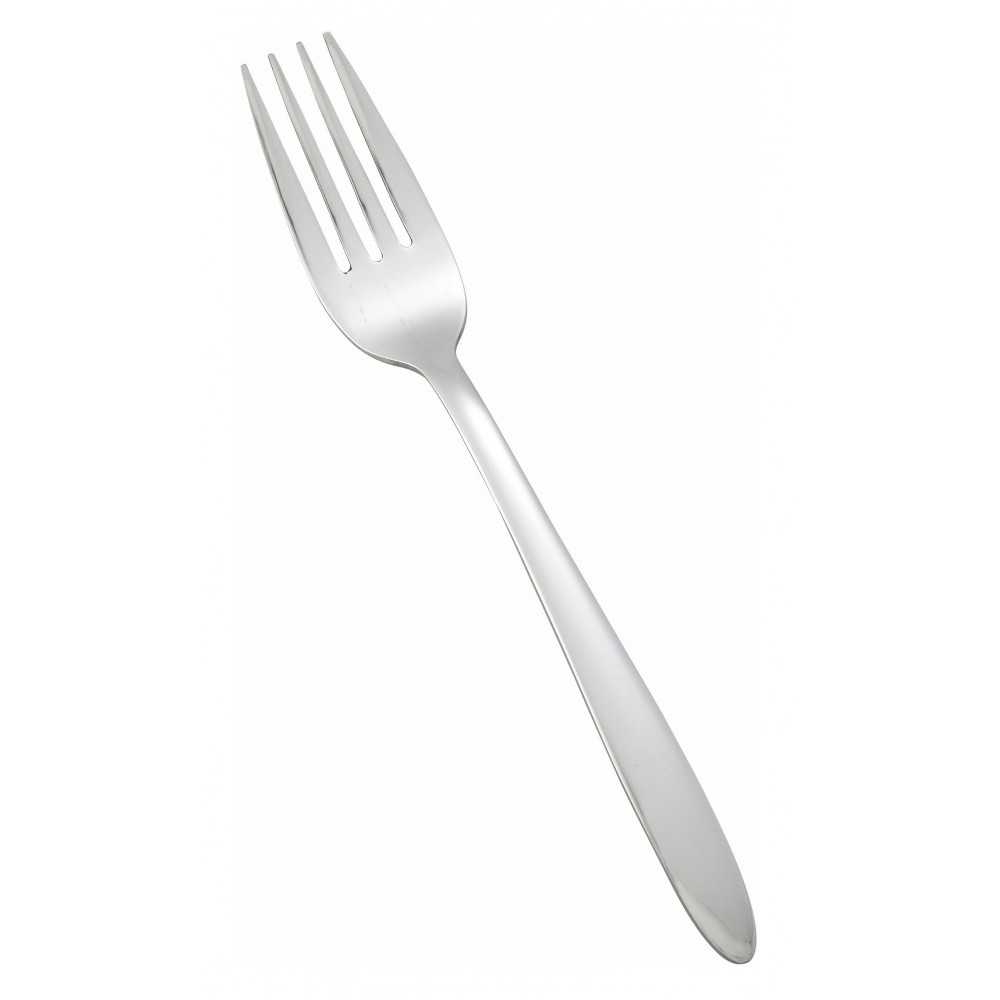 Flute Heavy Weight Mirror Finish Stainless Steel Dinner Fork (12/Pack)