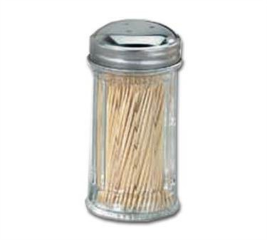 Fluted Glass Toothpick Dispenser