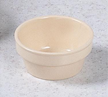 Fluted Ramekin - Classic Tan Melamine (2.5 Oz., 2.75