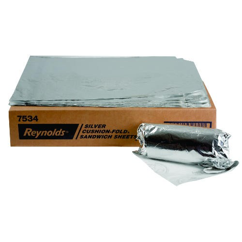 Foil Wrap, Plain, Cushion Folded 14 X 16In
