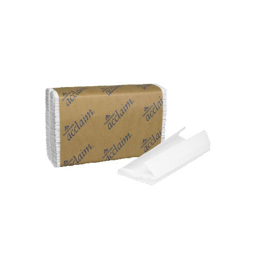 Folded Paper Towel 13.5 X 10.25, White